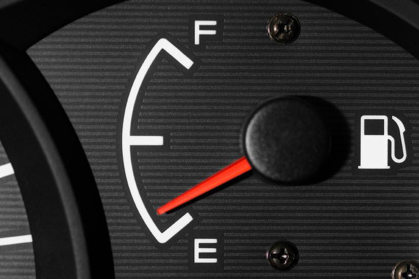gas light low fuel