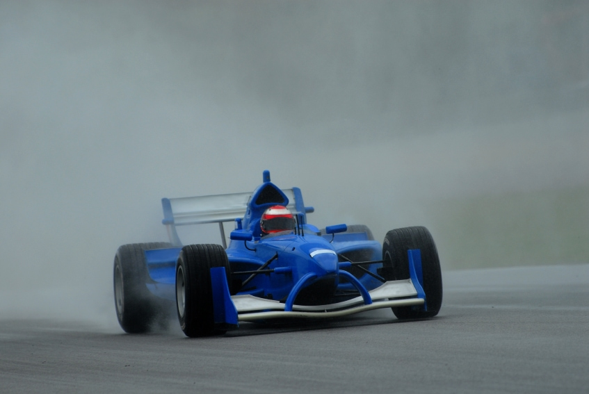 Stock photo of A1 Grand Prix in Sepang Malaysia 2006