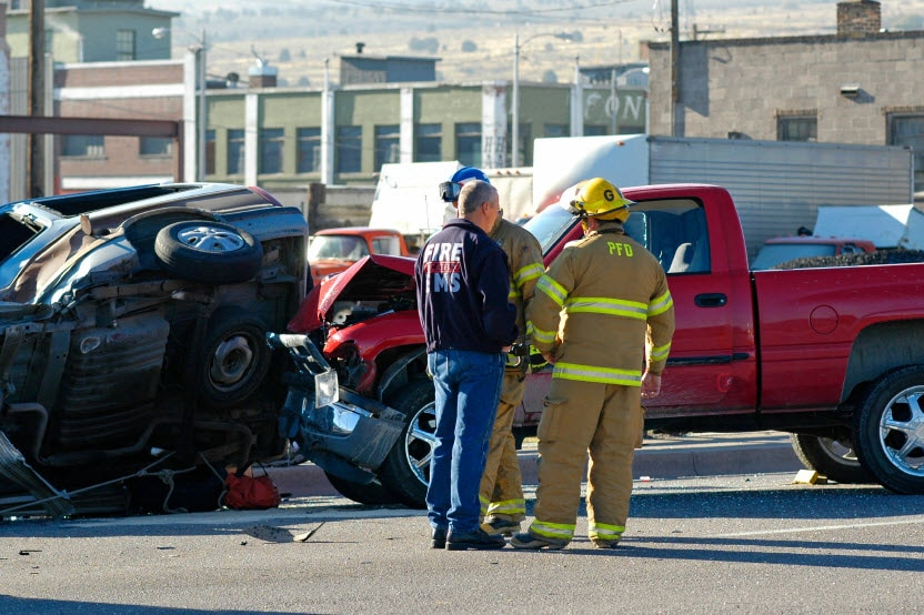 staged auto accidents in los angeles