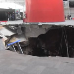 Giant Sinkhole Claims Rare Collector Corvettes