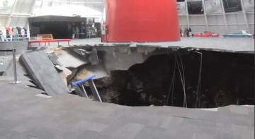 Giant Sinkhole Claims Rare Corvettes
