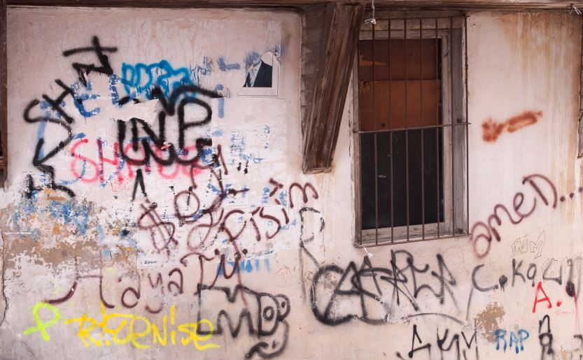 home vandalism