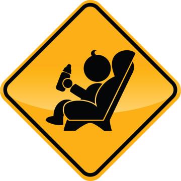 Car seat sign