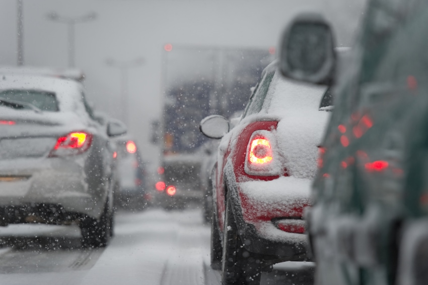 How to Tackle Slick Roads as Colder Weather Moves In