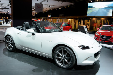 Mazda MX5 compact convertible sports car