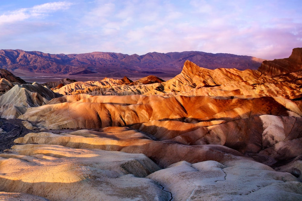 panoramic view in death valley national park in ca roadtrip